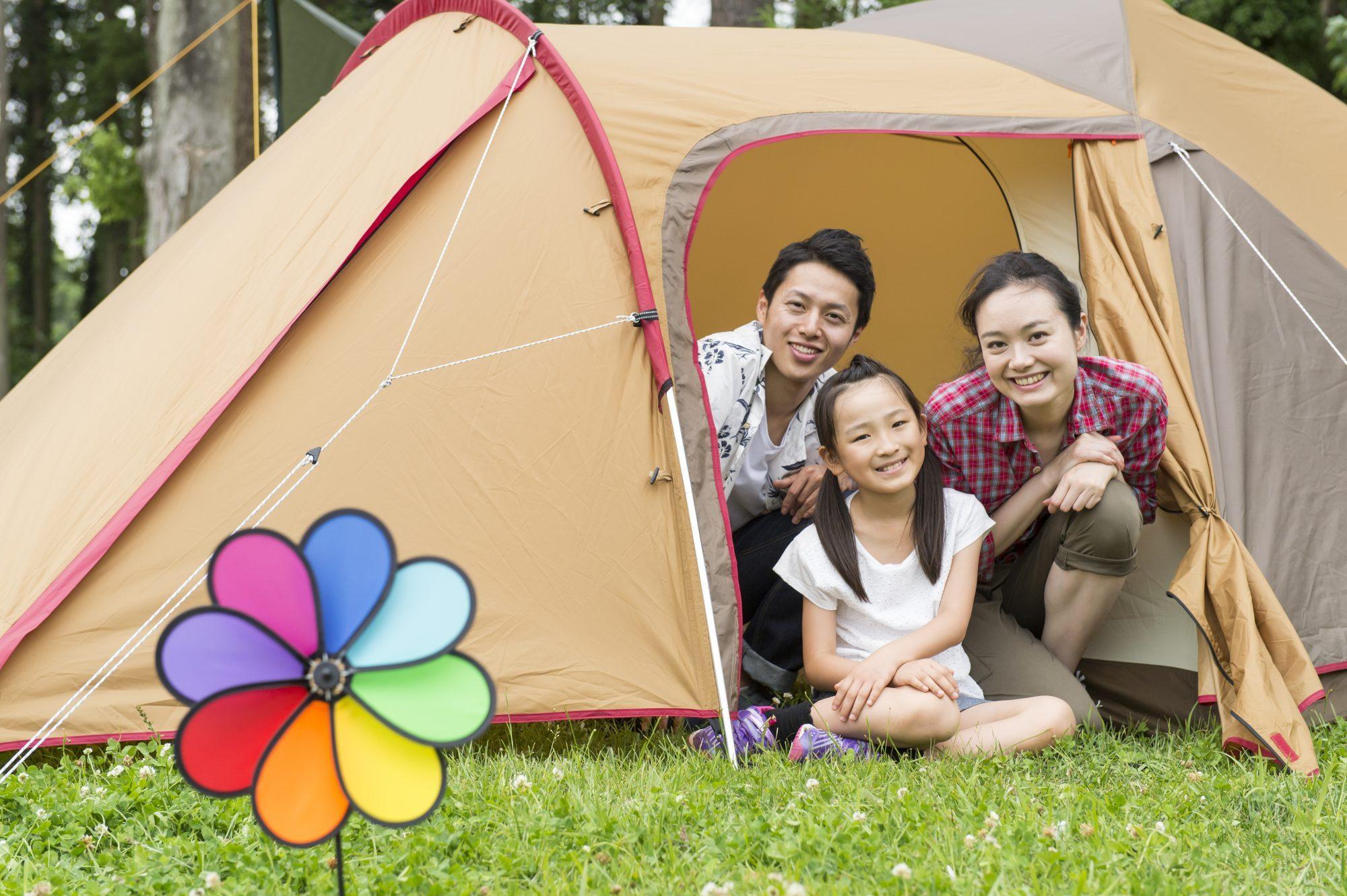 おうちキャンプを楽しもう!