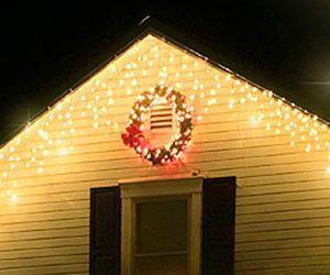 自宅のお庭でクリスマスイルミネーションを楽しもう。