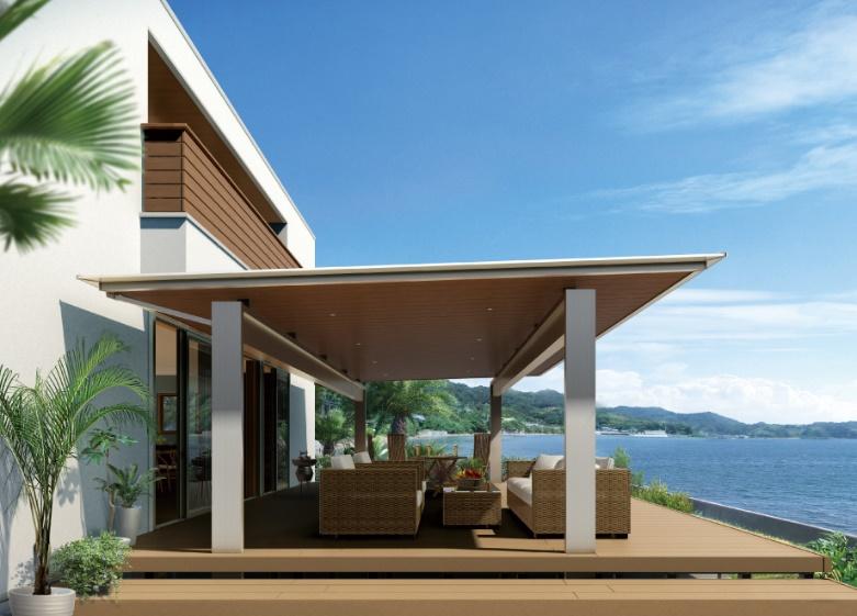 家にこだわりたい人のための、大型屋根。今までになかったデザインと機能性で毎日の暮らしを変えます。