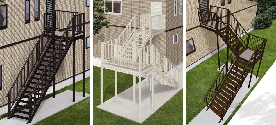 家族の安全や二世帯住宅のプライバシーを守る、外階段リフォームをご存知ですか?