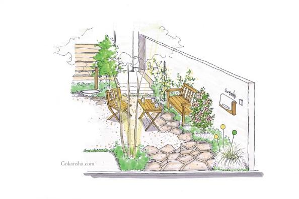 【建築設計士が考える】狭小地でも、駐車場を庭にすることで心地よい空間になる
