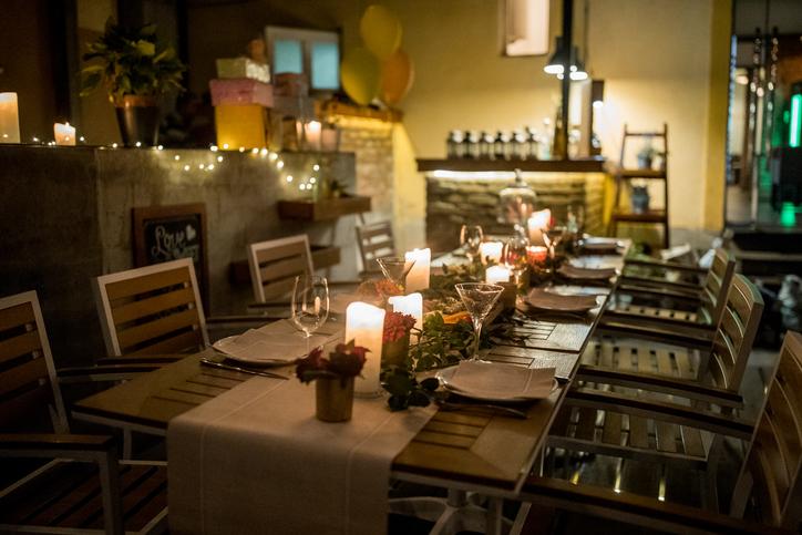 テイクアウトのご飯がもっと楽しくなる!レストランのオープンテラスのような庭にする