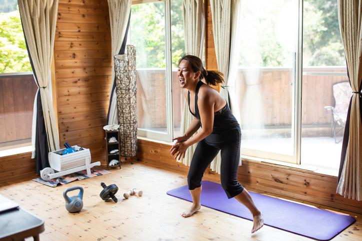 庭を活用したジムで運動を楽しもう!これが、我が家のアウトドアスペースを使ったアイデア