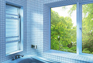 窓を開けて換気をしよう!気になる視線はカットして、適度に光と風を取り込む便利なルーバー