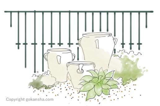狭い庭のガーデニング、デザイン次第で楽しめる