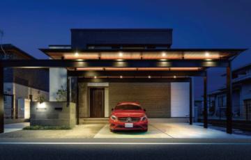 カーポートに照明を忘れずに!便利でおしゃれな取り付け方、車上荒らし対策など防犯効果も