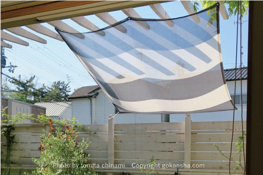 【エクステリア空間の専門家】リラックスして心地よく庭で過ごすための、簡単目隠しアイデア
