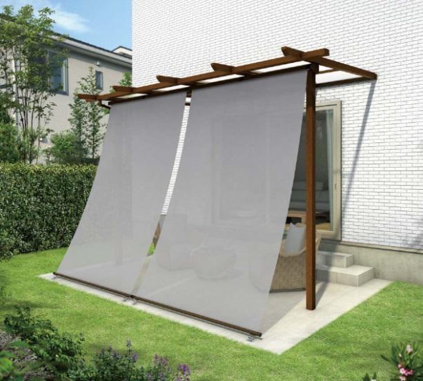 お庭を目隠し、知っておきたいシェードのメリットやデメリット、活用するためのポイント